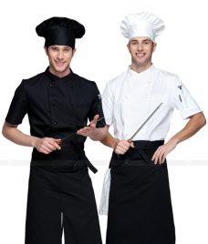 Dong Phuc Dau Bep GLU DB174 đồng phục đầu bếp
