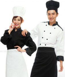 Dong Phuc Dau Bep GLU DB179 đồng phục đầu bếp