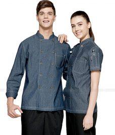 Dong Phuc Dau Bep GLU DB180 đồng phục đầu bếp