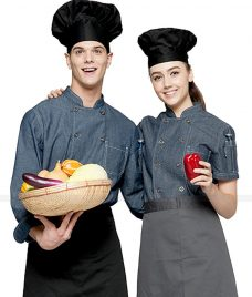 Dong Phuc Dau Bep GLU DB181 đồng phục đầu bếp