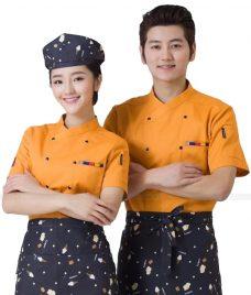 Dong Phuc Dau Bep GLU DB186 đồng phục đầu bếp
