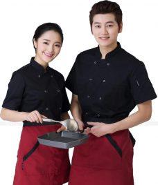 Dong Phuc Dau Bep GLU DB187 đồng phục đầu bếp