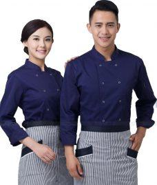 Dong Phuc Dau Bep GLU DB188 đồng phục đầu bếp