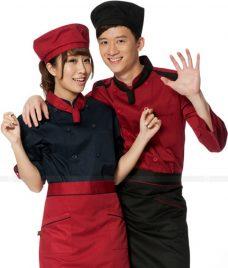 Dong Phuc Dau Bep GLU DB189 đồng phục đầu bếp