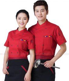 Dong Phuc Dau Bep GLU DB190 đồng phục đầu bếp