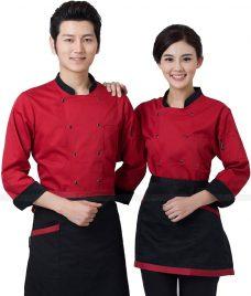 Dong Phuc Dau Bep GLU DB191 đồng phục đầu bếp
