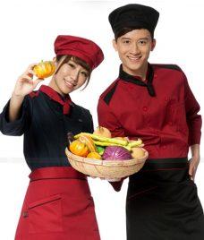 Dong Phuc Dau Bep GLU DB194 đồng phục đầu bếp