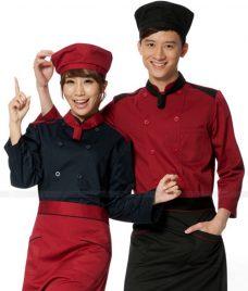 Dong Phuc Dau Bep GLU DB195 đồng phục đầu bếp