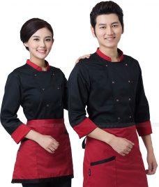 Dong Phuc Dau Bep GLU DB199 đồng phục đầu bếp