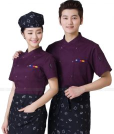 Dong Phuc Dau Bep GLU DB200 đồng phục đầu bếp