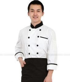 Dong Phuc Dau Bep GLU DB22 đồng phục đầu bếp