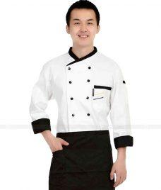 Dong Phuc Dau Bep GLU DB26 đồng phục đầu bếp