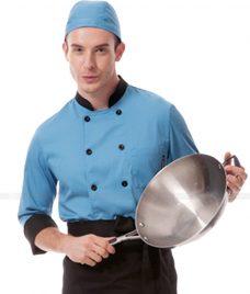 Dong Phuc Dau Bep GLU DB29 đồng phục đầu bếp