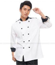 Dong Phuc Dau Bep GLU DB41 đồng phục đầu bếp
