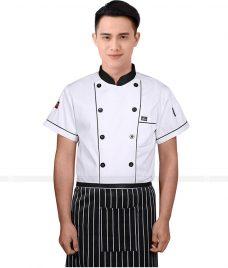 Dong Phuc Dau Bep GLU DB45 đồng phục đầu bếp