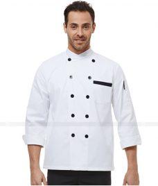Dong Phuc Dau Bep GLU DB46 đồng phục đầu bếp