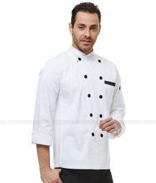 Dong Phuc Dau Bep GLU DB47 đồng phục đầu bếp