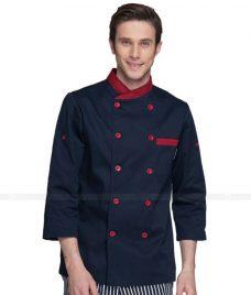 Dong Phuc Dau Bep GLU DB48 đồng phục đầu bếp
