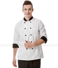 Dong Phuc Dau Bep GLU DB49 đồng phục đầu bếp