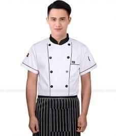 Dong Phuc Dau Bep GLU DB55 đồng phục đầu bếp