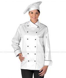 Dong Phuc Dau Bep GLU DB56 đồng phục đầu bếp