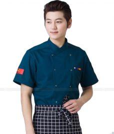 Dong Phuc Dau Bep GLU DB64 đồng phục đầu bếp