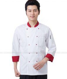 Dong Phuc Dau Bep GLU DB68 đồng phục đầu bếp
