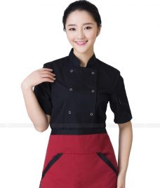 Dong Phuc Dau Bep GLU DB71 đồng phục đầu bếp