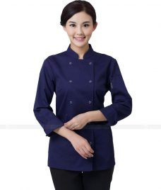 Dong Phuc Dau Bep GLU DB74 đồng phục đầu bếp