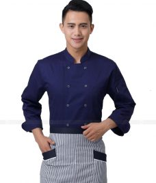 Dong Phuc Dau Bep GLU DB76 đồng phục đầu bếp