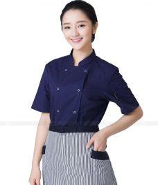 Dong Phuc Dau Bep GLU DB77 đồng phục đầu bếp