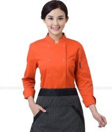 Dong Phuc Dau Bep GLU DB79 đồng phục đầu bếp