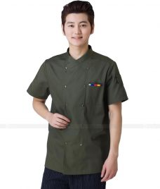 Dong Phuc Dau Bep GLU DB80 đồng phục đầu bếp