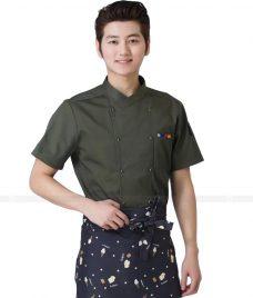 Dong Phuc Dau Bep GLU DB81 đồng phục đầu bếp