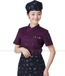 Dong Phuc Dau Bep GLU DB82 đồng phục đầu bếp