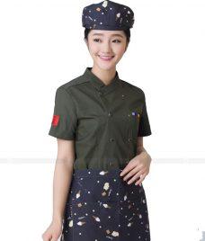 Dong Phuc Dau Bep GLU DB85 đồng phục đầu bếp