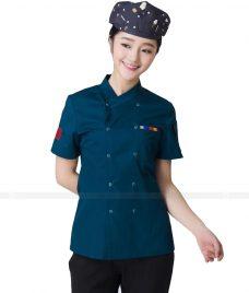 Dong Phuc Dau Bep GLU DB89 đồng phục đầu bếp