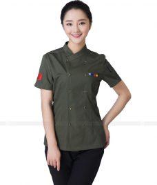 Dong Phuc Dau Bep GLU DB95 đồng phục đầu bếp