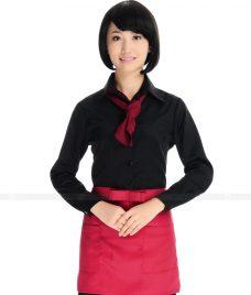 Dong phuc boi ban nha hang GLU BB24 Đồng phục phục vụ bàn