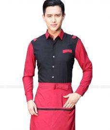 Dong phuc boi ban nha hang GLU BB29 Đồng phục phục vụ bàn