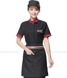 Dong phuc boi ban nha hang GLU BB38 Đồng phục phục vụ bàn