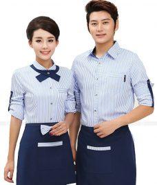 Dong phuc boi ban nha hang GLU BB47 Đồng Phục Nhà Hàng