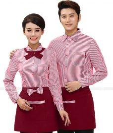Dong phuc boi ban nha hang GLU BB50 Đồng Phục Nhà Hàng