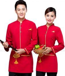 Dong phuc boi ban nha hang GLU BB52 Đồng Phục Nhà Hàng