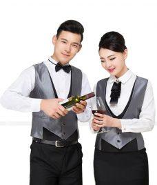 Dong phuc boi ban nha hang GLU BB54 Đồng Phục Nhà Hàng