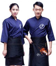 Dong phuc boi ban nha hang GLU BB58 Đồng Phục Nhà Hàng