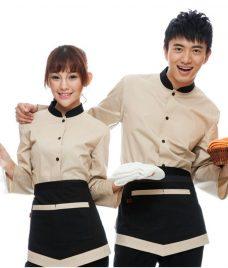 Dong phuc boi ban nha hang GLU BB65 Đồng Phục Nhà Hàng