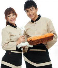 Dong phuc boi ban nha hang GLU BB68 Đồng Phục Nhà Hàng
