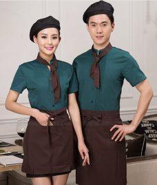 Dong phuc boi ban nha hang GLU BB71 Đồng Phục Nhà Hàng