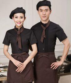 Dong phuc boi ban nha hang GLU BB72 Đồng Phục Nhà Hàng